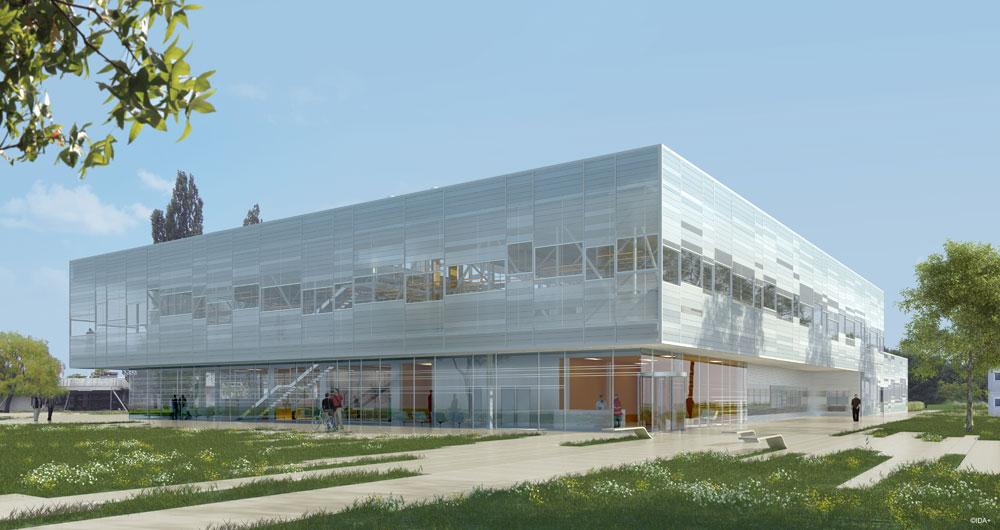 Ease training center strasbourg 67 vib architecture for Strasbourg architecture