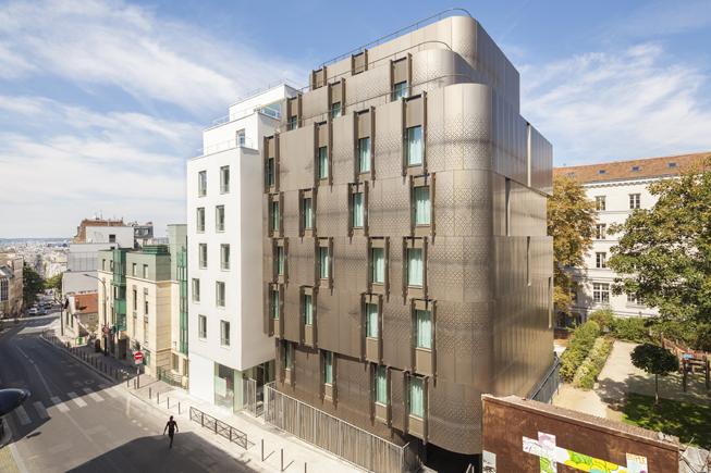 HR-5166 VIB Architecture Crèche logements Ménilmontant