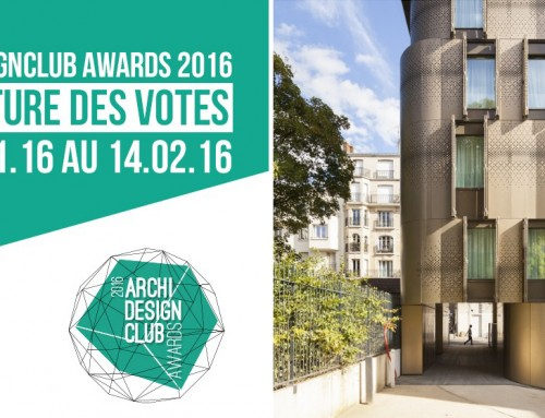 ArchiDesignClubAwards 2016 | LET'S HAVE A VOTE ! | Our student housing and nursery project in Ménilmontant is nominated !