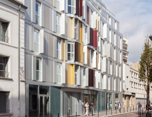 Experimental student residence – shared housing| PARIS 18