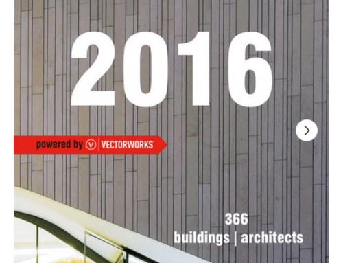 ARCHIPENDIUM 2016 | Le calendrier d'architecture est disponible.
