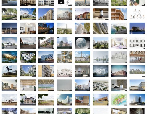 The traditionnal yearbook by le courrier de l'architecte is online.