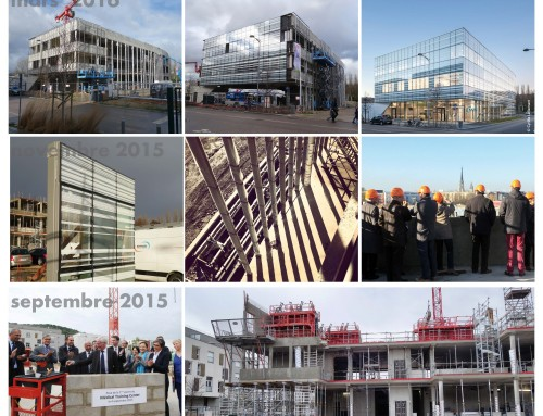 Look back at construction of MTC building inaugurated this friday
