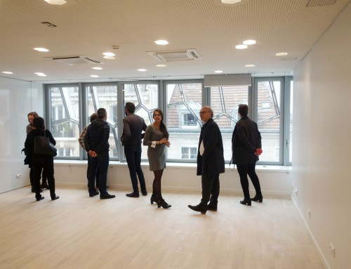 Visit of the Institute for Audition with the Pavillon de l'Arsenal