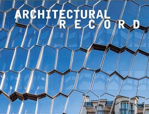 Audition Institute is published in Architectural Record – july 2020