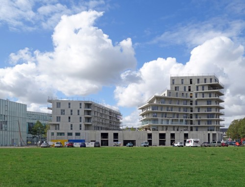 Housing on Caen's peninsula | Construction's going ahead